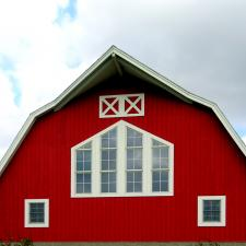 Converted barn houses rest area